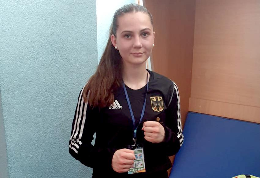 Victoria Sawazki komplettiert das Feld